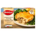 Birds Eye 4 Shortcrust Creamy Chicken Pies