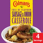 Colman's Sausage and Onion Casserole
