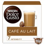 Nescafe Dolce Gusto Cafe Au Lait Coffee Pods 16s