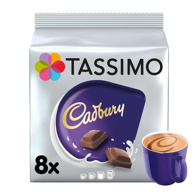 Morrisons Tassimo Cadbury Hot Chocolate Pods 8s 240g