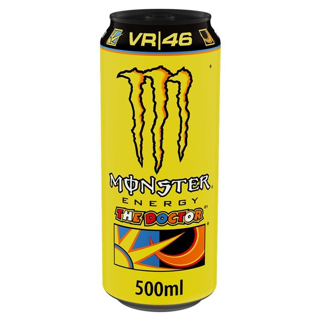 Morrisons: Monster Energy Drink The Doctor 500ml(Product Information)