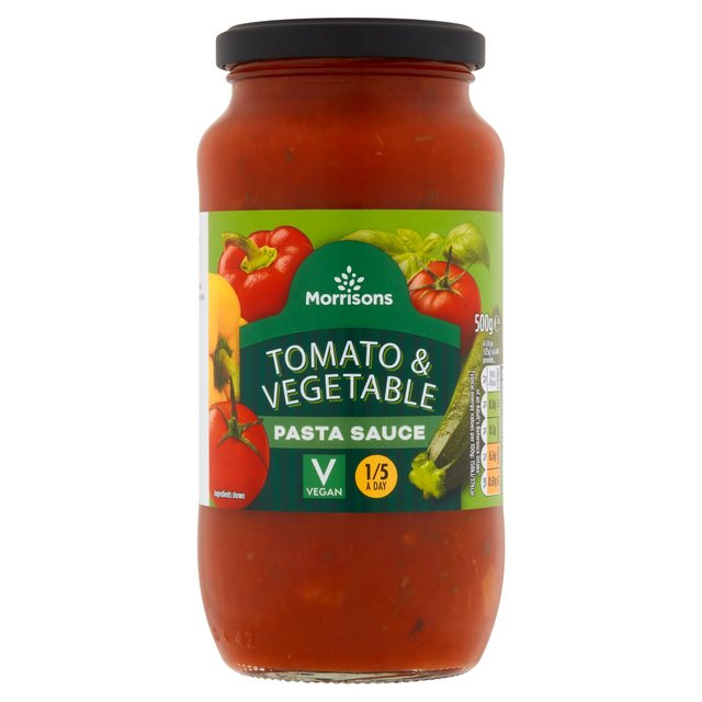 Morrisons Vegetable Pasta Sauce