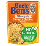 Uncle Bens Wholegrain Savoury Chicken Microwave Rice