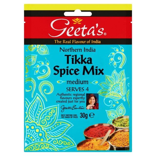 MORRISONS > Food Cupboard > Geetas Tikka Spice Mix