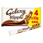 Galaxy Ripple Bars 4 pack