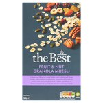 Morrisons The Best Muesli, Granola  Fruit & Nut