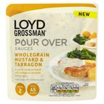 Loyd Grossman Wholegrain Mustard & Tarragon Pour Over Sauce