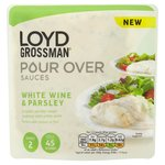 Loyd Grossman White Wine & Parsley Pour Over Sauce