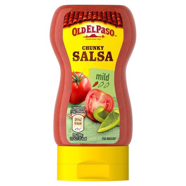Old El Paso Squeezy Chunky Salsa