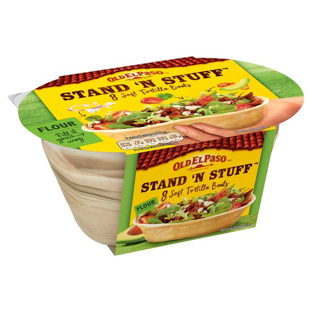 Click the store of your choice to purchase Old El Paso Stand 'n Stuff Stand 'n Stuff Shells - 15 Count.