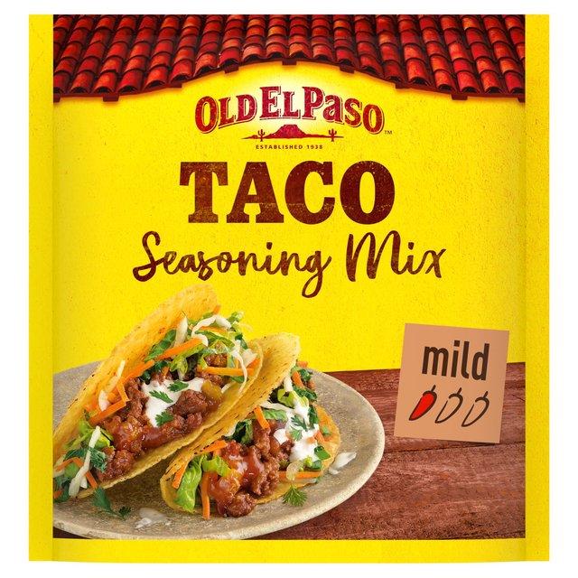 Old El Paso Garlic & Paprika Taco Seasoning Mix