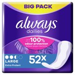 Always Dailies Panty Liners Large