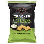 Jacobs Sour Cream & Chives Cracker Crisps