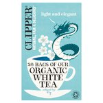 Clipper Organic White Tea Bags 26s