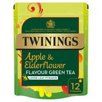 Twinings Apple & Elderflower Green Tea 12s