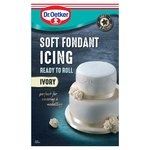 Dr. Oetker Ready to Roll Soft Fondant Ivory Icing