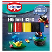 Dr. Oetker Ready to Roll Soft Fondant Icing Various Colours