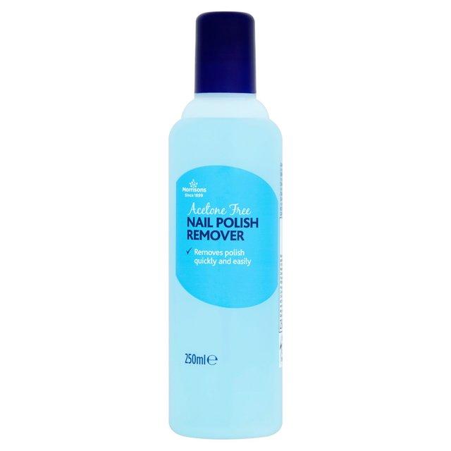 Morrisons: Morrisons Acetone Free Nail Polish Remover 250ml(Product ...