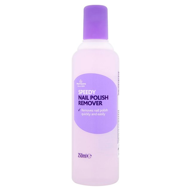 Morrisons: Morrisons Nail Polish Remover 250ml(Product Information)