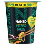 Naked Noodle Chow Mein Pot Snack