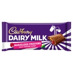 Cadbury Dairy Milk Marvellous Smashables Jelly Popping Candy Chocolate Bar