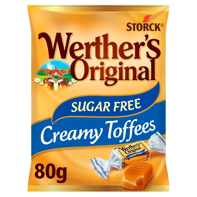 morrisons werthers original sugar free toffees 80g product information