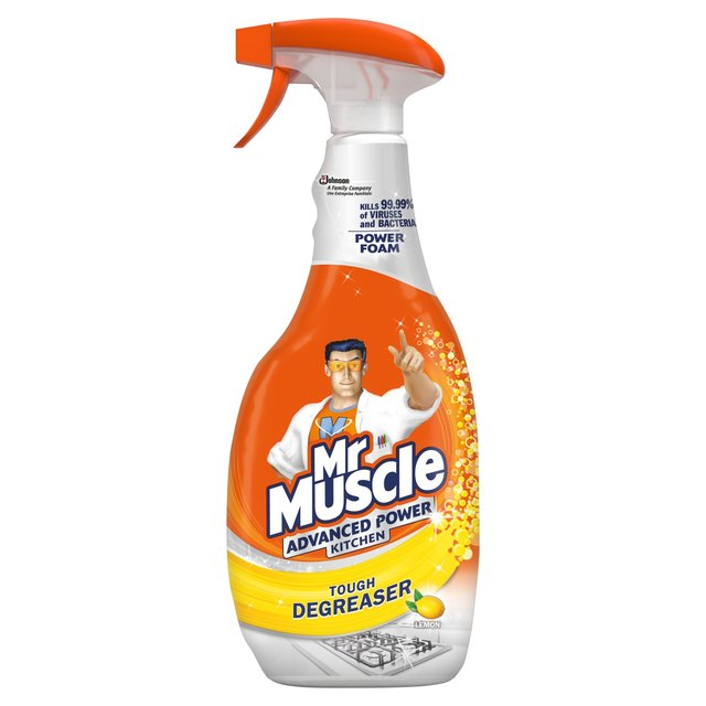 Morrisons mr muscle kitchen advanced power cleaner 750ml product information - Cleaning products for kitchen ...