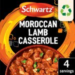 Schwartz Authentic Mix Moroccan Lamb Casserole