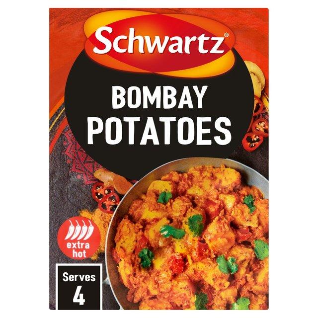 morrisons schwartz bombay potato authentic mix 33g
