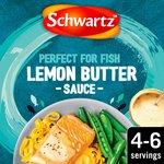 Schwartz Lemon Butter Sauce For Salmon