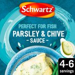 Schwartz Parsley And Chive Sauce For Cod