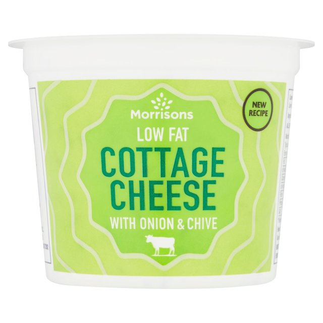 morrisons morrisons onion chive cottage cheese 300g product rh groceries morrisons com