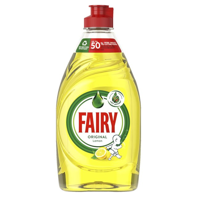 Fairy Original Washing Up Liquid Lemon with LiftAction