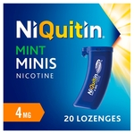 Niquitin Mini Lozenges 4 Mg Mint