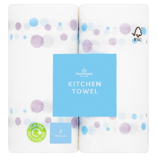 Morrisons Standard Decorated Kitchen Towel