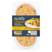 Morrisons The Best Salmon, Smoked Cod & Haddock Fishcakes with Saucy Centre