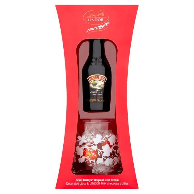 Morrisons: Baileys Chocolate & Glass Gift Set (Product Information)