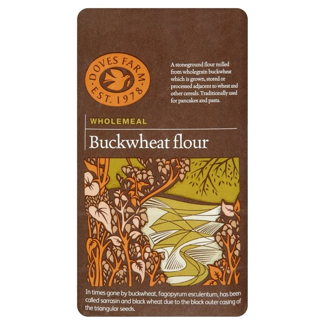 Morrisons Doves Farm Whole Meal Buckwheat Flour 1kgproduct