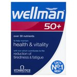 Wellman 50 Plus Tablets