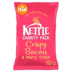 Kettle Chips Crispy Bacon & Maple Syrup Crisps