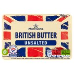 Morrisons Unsalted British Butter