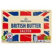 Morrisons British Salted Butter