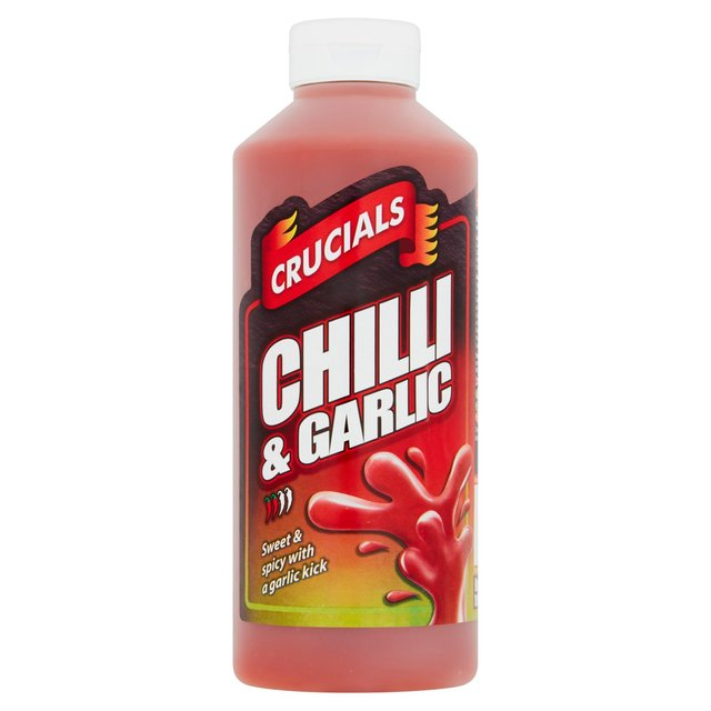 Crucials Chilli & Garlic Marinade Hot Sauce