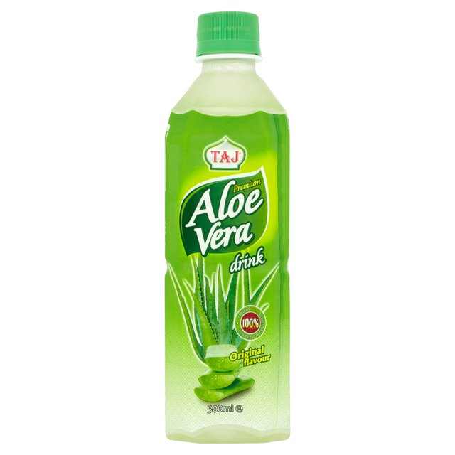 morrisons taj premium aloe vera juice drink 500ml product information. Black Bedroom Furniture Sets. Home Design Ideas