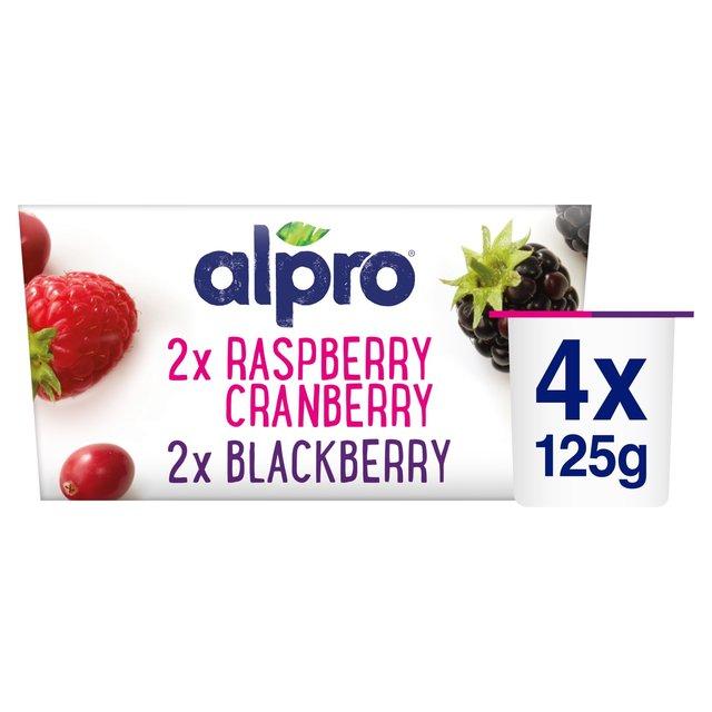 Alpro Blackberry, Raspberry & Cranberry Yogurt Alternative