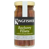 Kingfisher Anchovy Fillets in Olive Oil