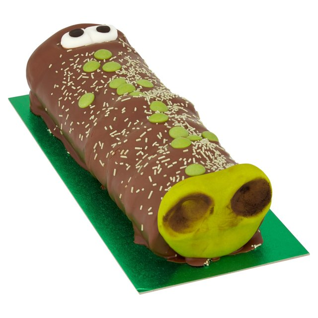Morrisons Crocodile Celebration Cake