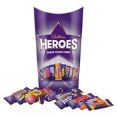 Cadbury Heroes Chocolate Carton