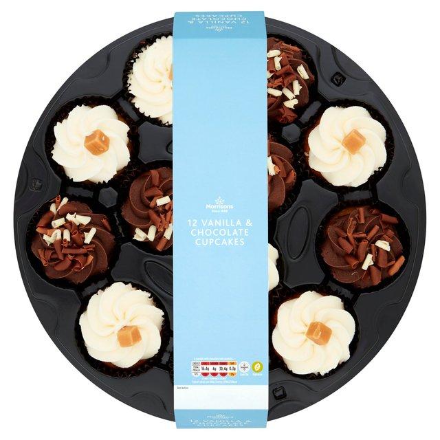 Morrisons Morrisons Cupcake Platter 12 Per Packproduct Information