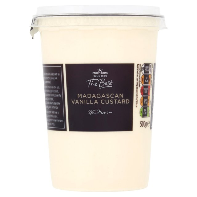 Morrisons The Best Madagascan Vanilla Custard